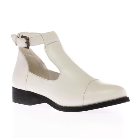 Alice White T Bar Flat Boots