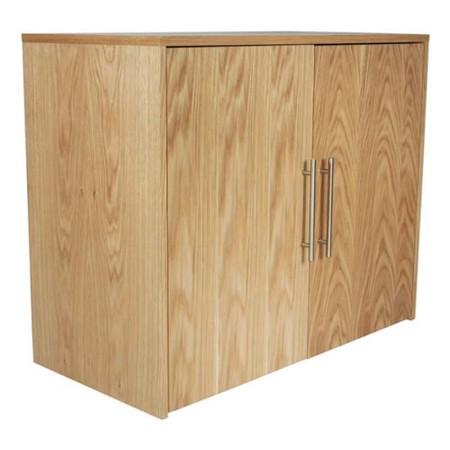Alphason Designs Oakwood Wide Cupboard