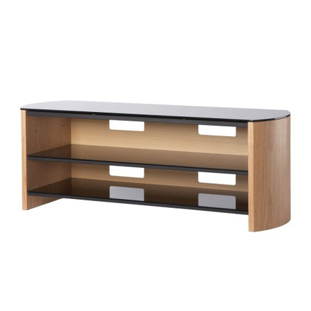 Alphason FW1100-LO/B Finewoods TV Stand - Up to 50 inch