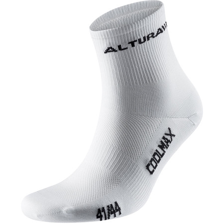 Altura Coolmax Cycling Socks - 3 Pack - Large White | Cycle Socks