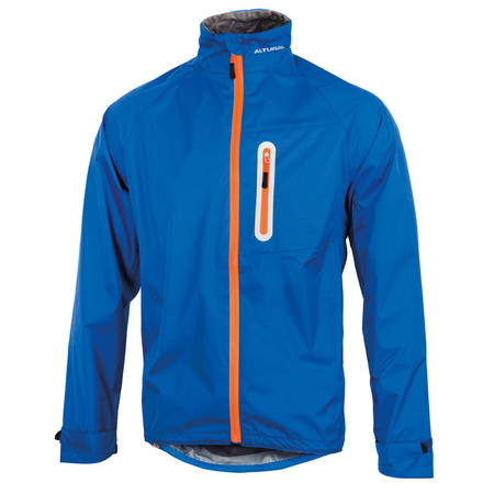 Altura Nevis II Waterproof Jacket - Medium Blue/Orange