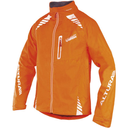 Altura Night Vision Jacket - Small Orange | Cycling Waterproof Jackets