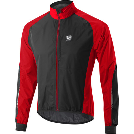 Altura Peloton Waterproof Jacket - Medium Red/Black