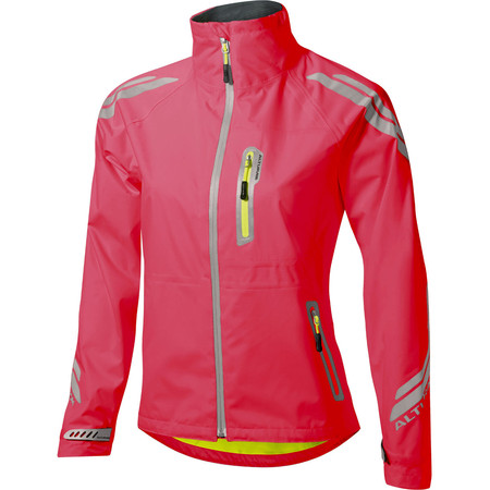 Altura Women's Night Vision Evo Waterproof Jacket - UK 14 Raspberry