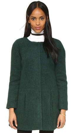 Amanda Uprichard Mae Coat - Green