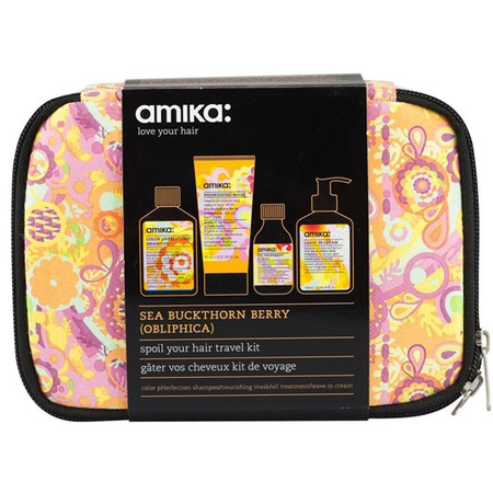 Amika Spoil Your Hair Travel Kit - Sea Buckthorn Berry (Obliphica)