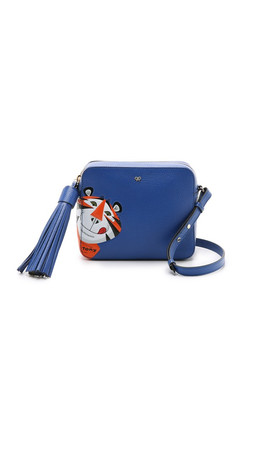 Anya Hindmarch Frosties Cross Body Bag - Electric Blue