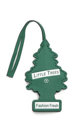 Anya Hindmarch Little Tree Bag Charm - Emerald