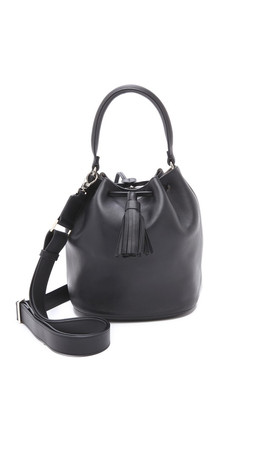Anya Hindmarch Vaughan Bucket Bag - Black
