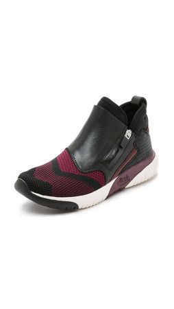 Ash Shu Sneakers - Bordeaux/Black