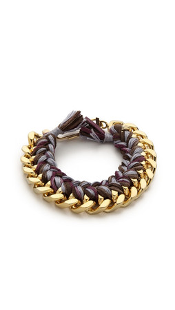 Aurelie Bidermann Do Brasil Bracelet - Mauve