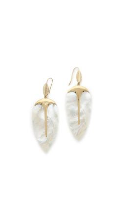 Aurelie Bidermann Talitha Earrings - Gold