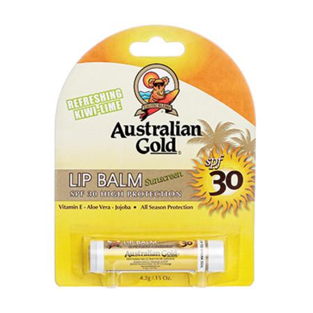 Australian Gold Sunscreen Lip Balm Refreshing Kiwi-Lime 4.2g