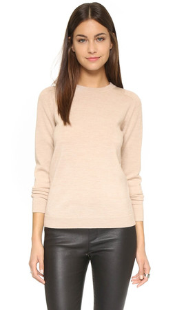 Ayr The French Girl Sweater - Heather Camel