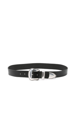 B-Low The Belt Villain Belt - Black/Silver
