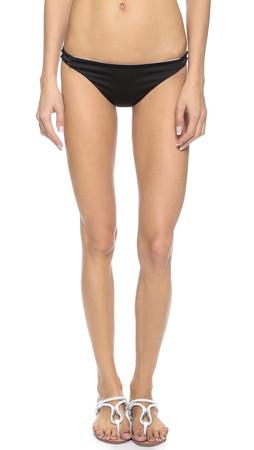 Basta Surf Reversible Bondi Bikini Bottoms - Noir/White/Black