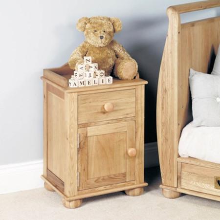 Baumhaus Amelie Oak Bedside Cabinet