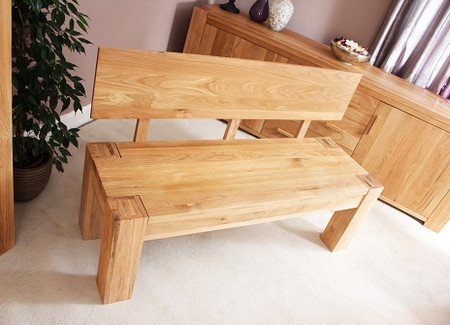 Baumhaus Atlas Oak Bench