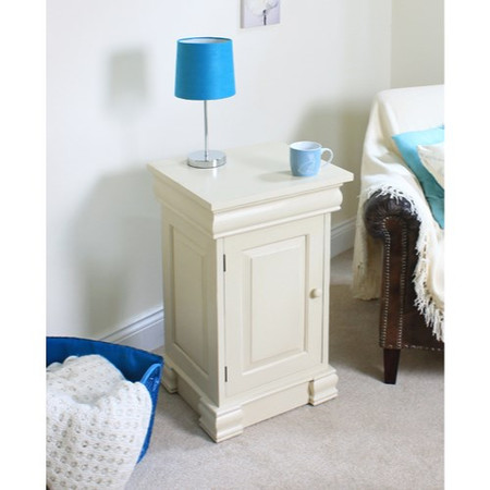Baumhaus Cadence Bedside Cabinet in cream