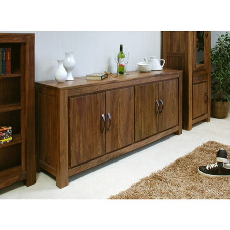 Baumhaus Mayan Large Low Sideboard in brown