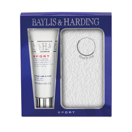 Baylis & Harding Sport Citrus Lime & Mint Mens 2 Piece Gift