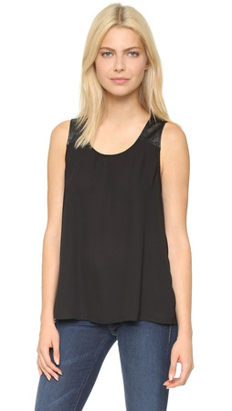 Bb Dakota Jack By Bb Dakota Ash Tank - Black