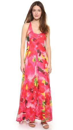 Bb Dakota Deklyn Abstract Floral Maxi Dress - Multi
