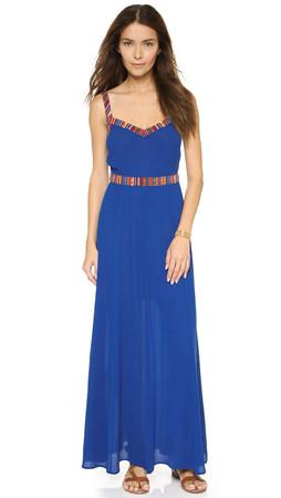 Bb Dakota Jack By Bb Dakota Products Dell Maxi Dress - Ultramarine