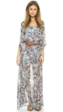 Bb Dakota Jack By Bb Dakota Ekko Fable Flower Maxi Dress - Multi