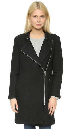 Bb Dakota Grayson Coat - Black