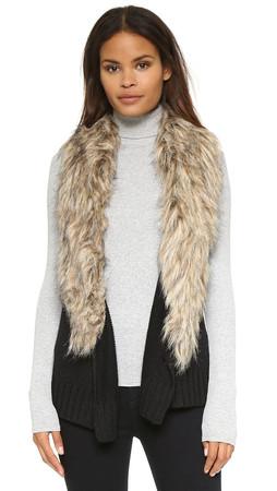 Bb Dakota Sadi Sweater Vest - Black