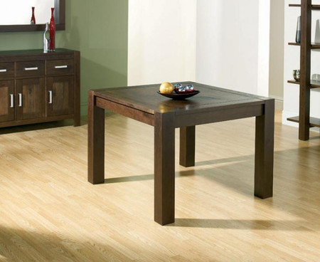 Bentley Designs Lyon Walnut 110cm Extending Dining Table