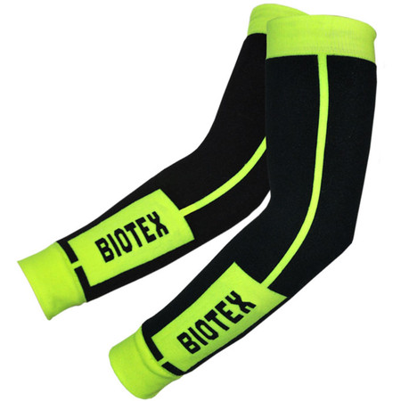 Biotex Thermal Arm Warmers - Large Black/Neon | Arm & Leg Warmers