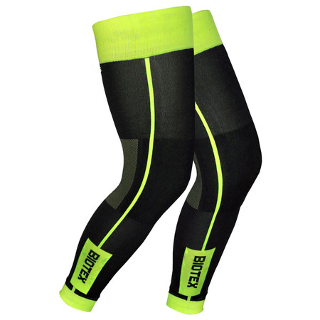Biotex Thermal Leg Warmers - Large Black/Neon | Arm & Leg Warmers