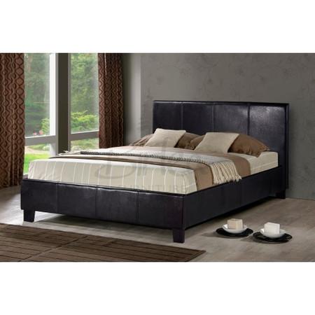Birlea Furniture Berlin Double Bed in Brown