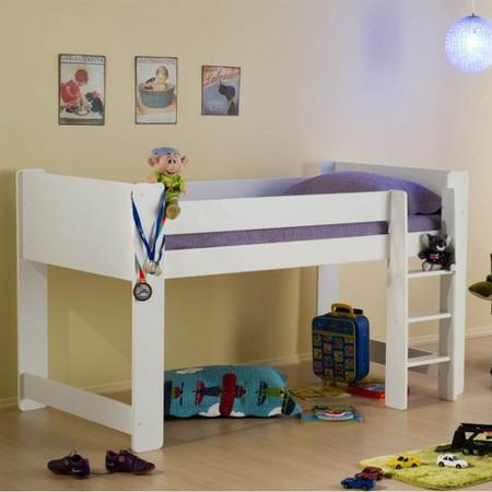 Birlea Furniture Cube Midi Sleeper in White