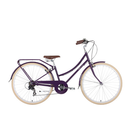 Bobbin Brownie Blackcurrant - 46cm Blackcurant | Hybrid & City Bikes