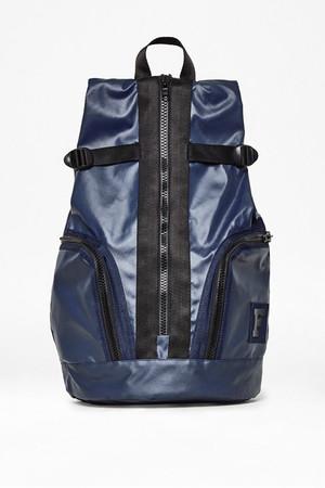 Bright Nylon Backpack - Marine Blue