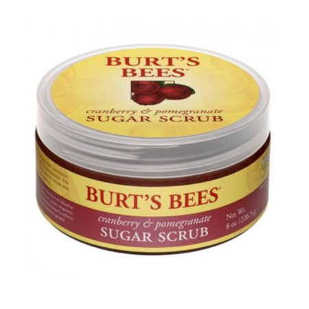 Burt's Bees Sugar Scrub Cranberry & Pomergranate