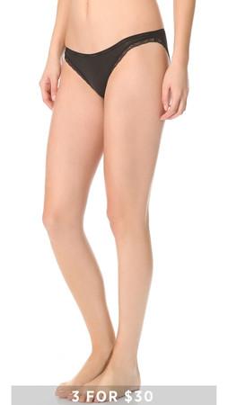 Calvin Klein Underwear Bottoms Up Bikini Briefs - Black