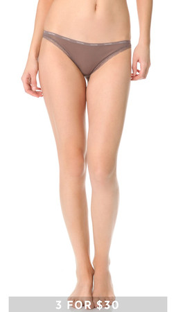 Calvin Klein Underwear Bottoms Up Bikini Briefs - Smoke