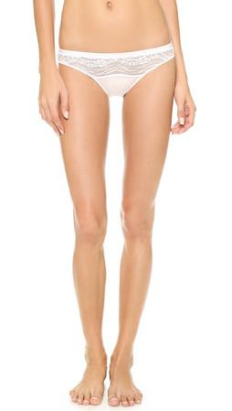 Calvin Klein Underwear Infinite Lace Bikini Briefs - White