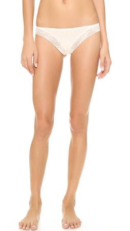 Calvin Klein Underwear Modern Signature Thong - Ivory