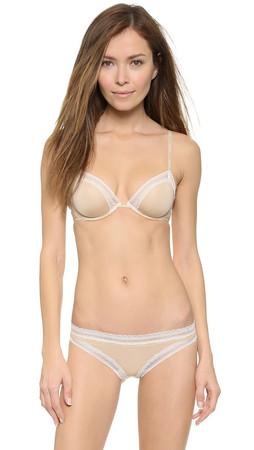 Calvin Klein Underwear Perfectly Fit Sexy Signature Underwire Bra - Skin