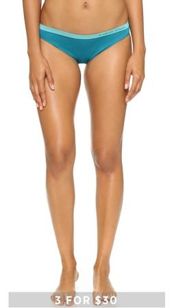 Calvin Klein Underwear Pure Seamless Bikini Panties - Caymen
