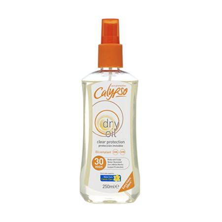 Calypso Clear Protection Dry Oil SPF 10 250ml