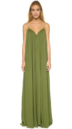 Camilla And Marc Airflow Dress - Olive