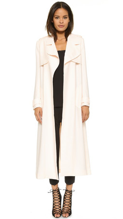 Camilla And Marc Antidote Trench Coat - Blush
