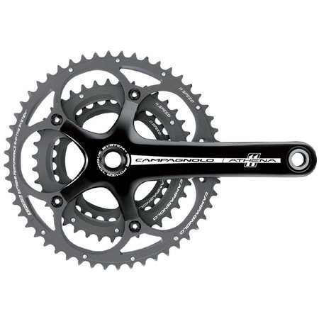 Campagnolo Athena 11 Speed Power Torque Triple Chainset - Black