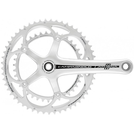 Campagnolo Athena Power Torque 11 Speed Chainset - 172 34-50 Silver